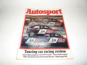 AUTOSPORT 1979 December 6th (Touring Car Review, James Hunt, Club Racing USA)